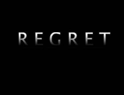 Regret… Poetry 22-3-21