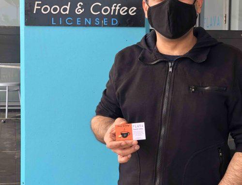 Flava Food & Coffee is 'hear to help'